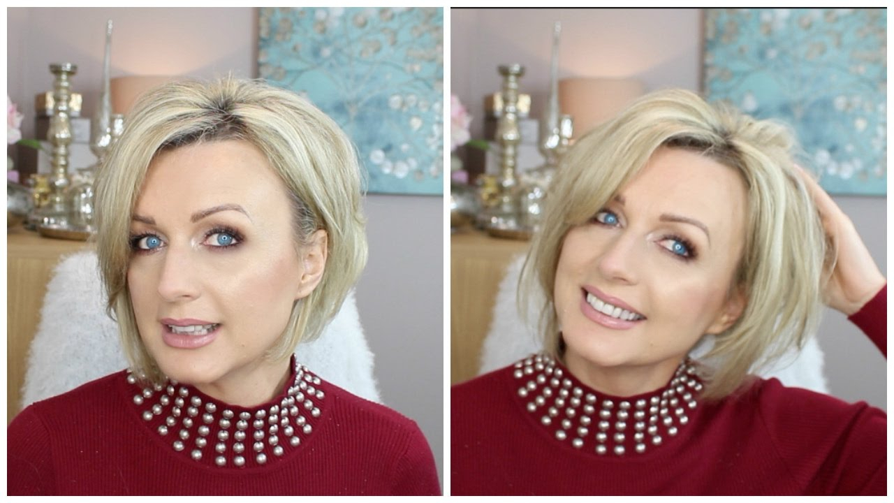 How To Style A Short, Stacked ( Inverted )Bob (2017) – Youtube Regarding Inverted Short Haircuts (View 17 of 25)