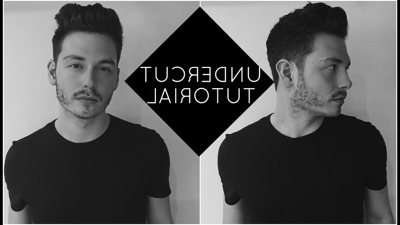 How To Style An Undercut With Wavy Hair   Jake Daniels – Youtube Regarding Undercut Hairstyles For Curly Hair (View 8 of 25)