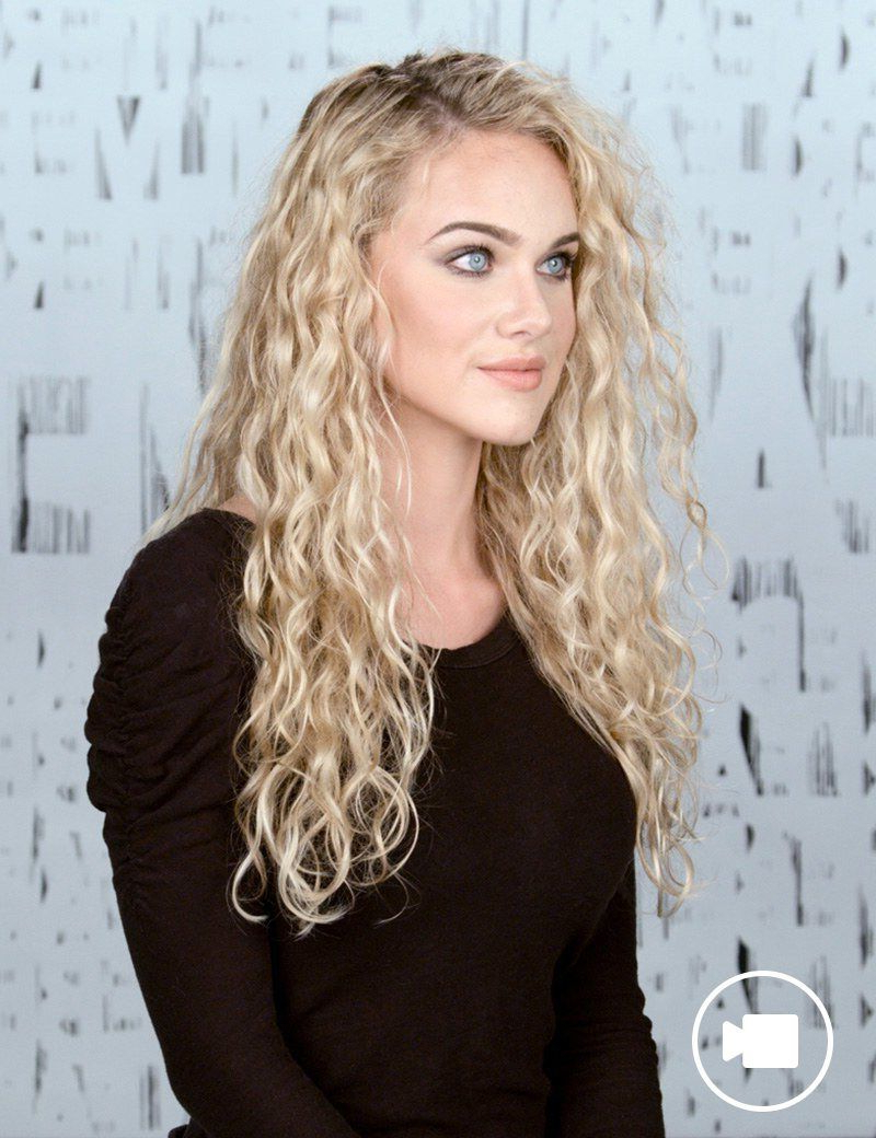 How To Style Curly Hair With Redken Curvaceous | Redken With Regard To Blow Dry Short Curly Hair (View 20 of 25)