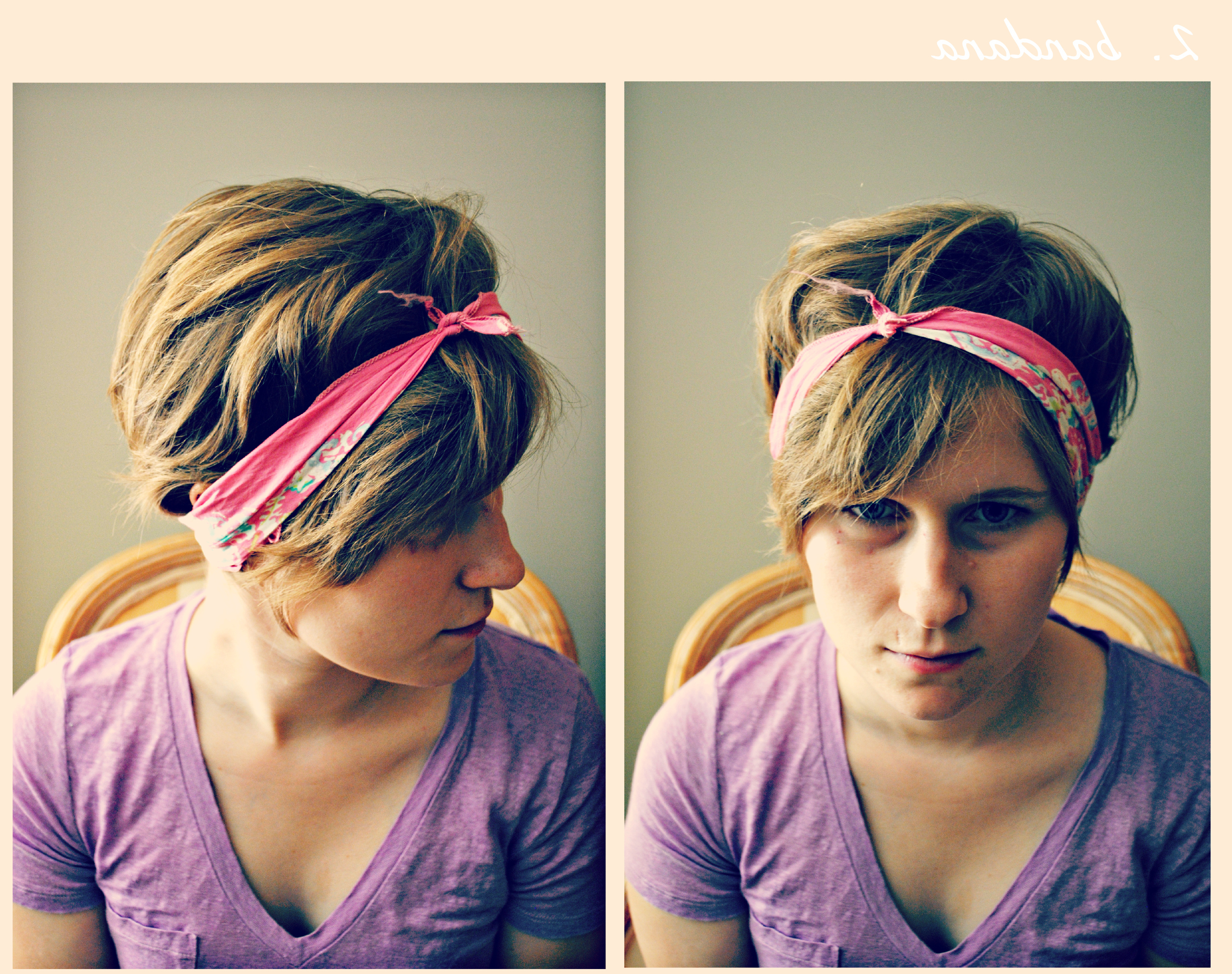 How To Style Short Hair | Pertaining To Short Hairstyles With Headbands (View 17 of 25)