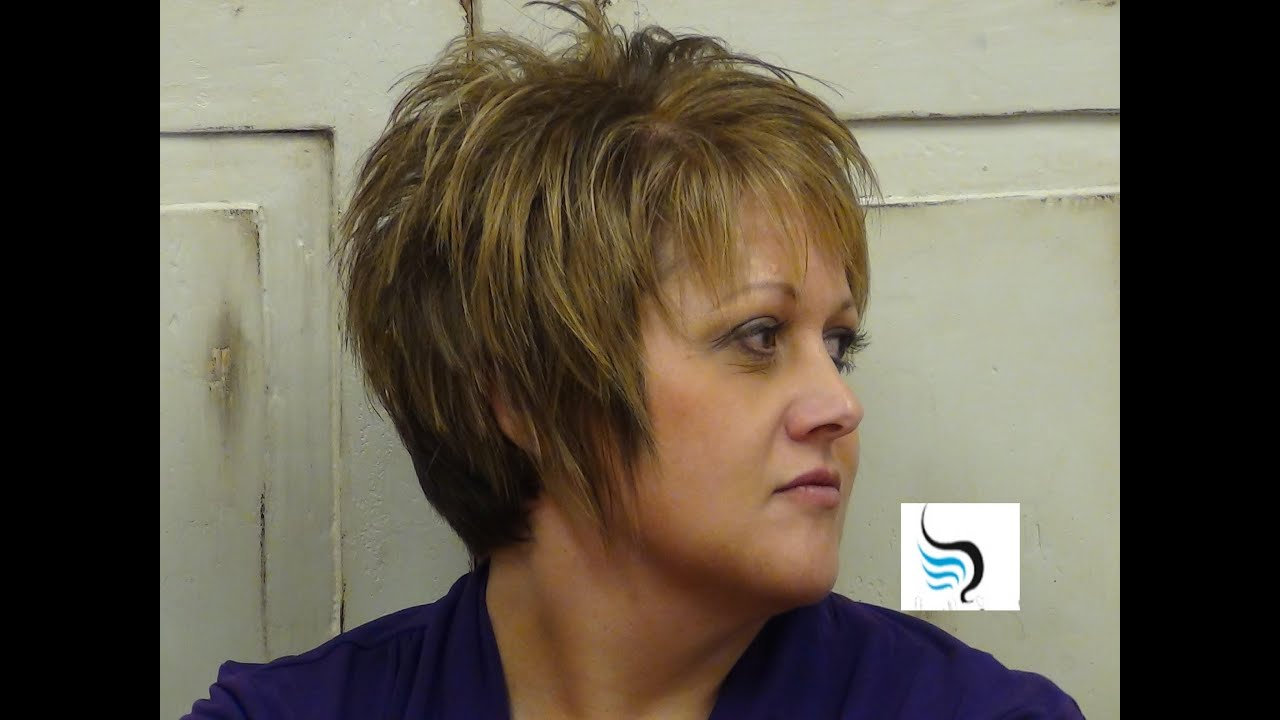 How To Style (Short Whispy Haircut) Hairstyles – Youtube For Wispy Short Haircuts (View 9 of 25)