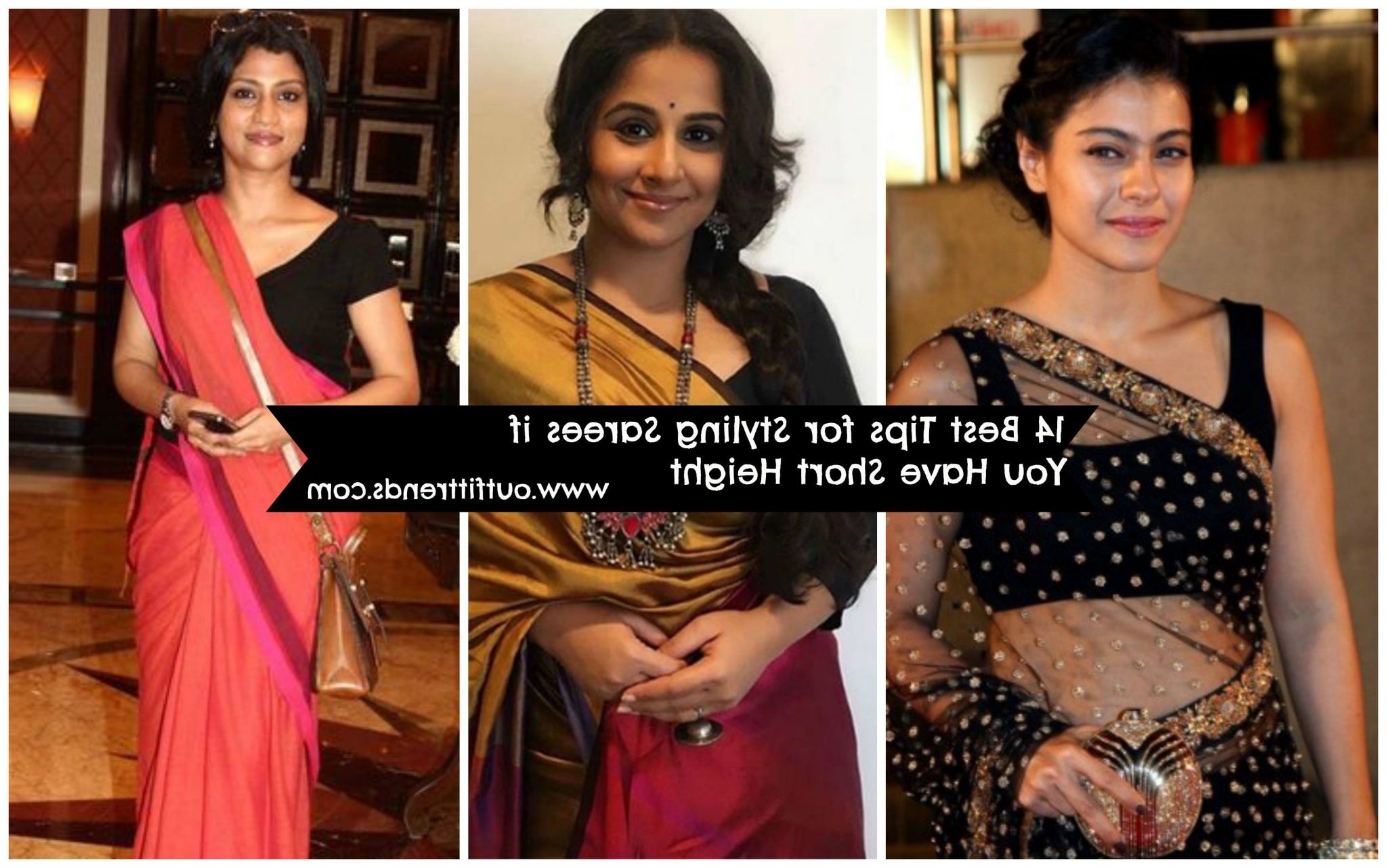 How To Wear Saree For Short Height? 14 Pro Tips For Short Girls Intended For Short Haircuts For Tall Women (View 10 of 25)