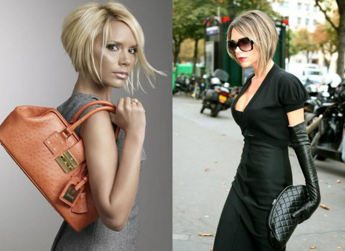 Iconic Stacked Bob Haircuts For The Most Stylish Ones   Hairstyles In Victoria Beckham Short Hairstyles (View 7 of 25)