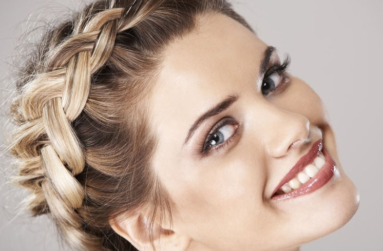 Ideas At The House: 20 Gorgeous Braided Hairstyles For Long Hair In Flowy Side Braid Ponytail Hairstyles (View 16 of 25)