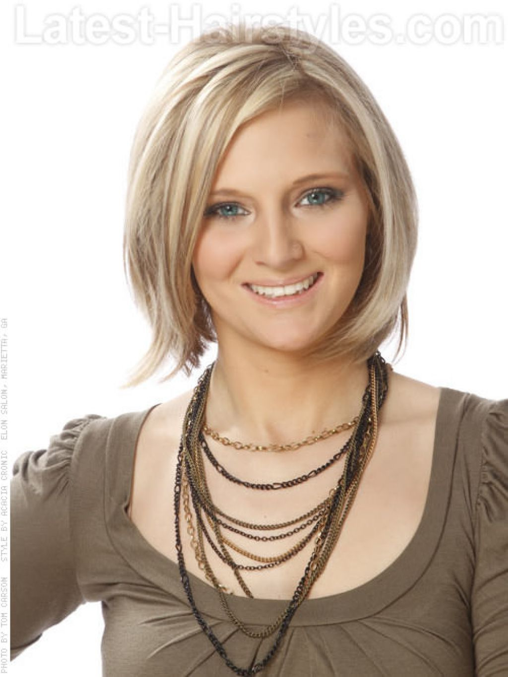 Image 1 Of 20 – Short Hairstyles For Very Thin Fine Hair Medium Throughout Medium To Short Haircuts For Thin Hair (View 17 of 25)