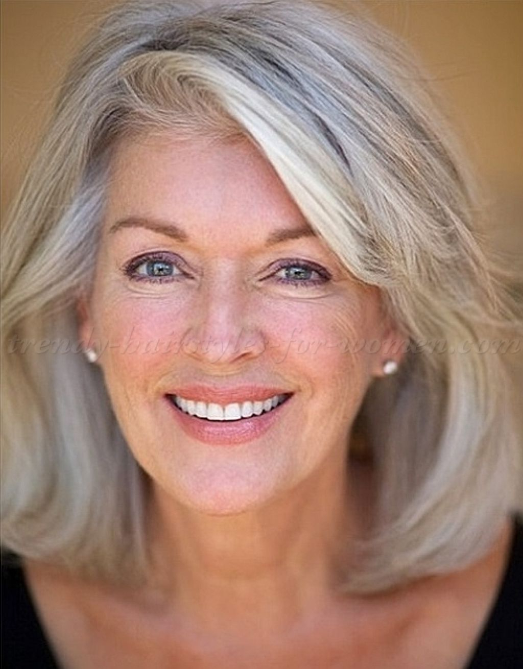Image Result For 2017 Hairstyles For Medium Hair For Gray Hair On With Regard To Short Length Hairstyles For Women Over  (View 16 of 25)