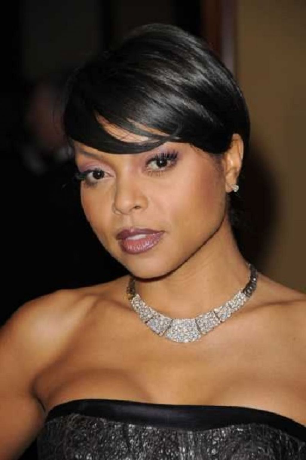 Image Result For African American Short Shags For Round Faces With Throughout Short Haircuts For African American Women With Round Faces (View 9 of 25)