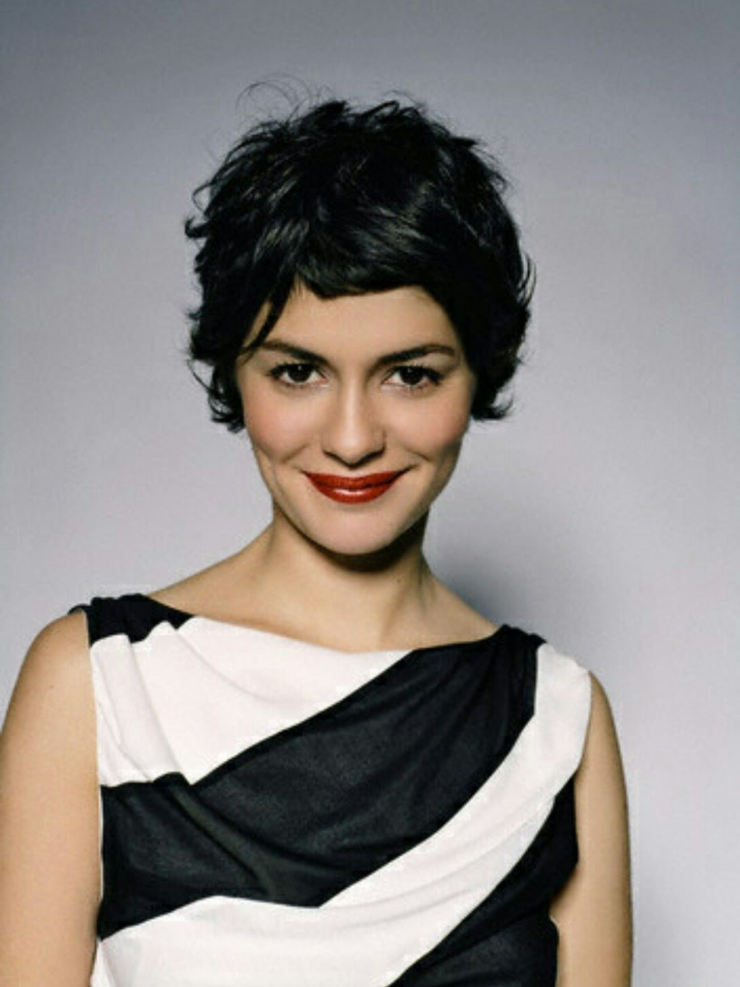 Image Result For Audrey Tautou Cheveux Courts | Haircut | Pinterest With Audrey Tautou Short Haircuts (View 2 of 25)