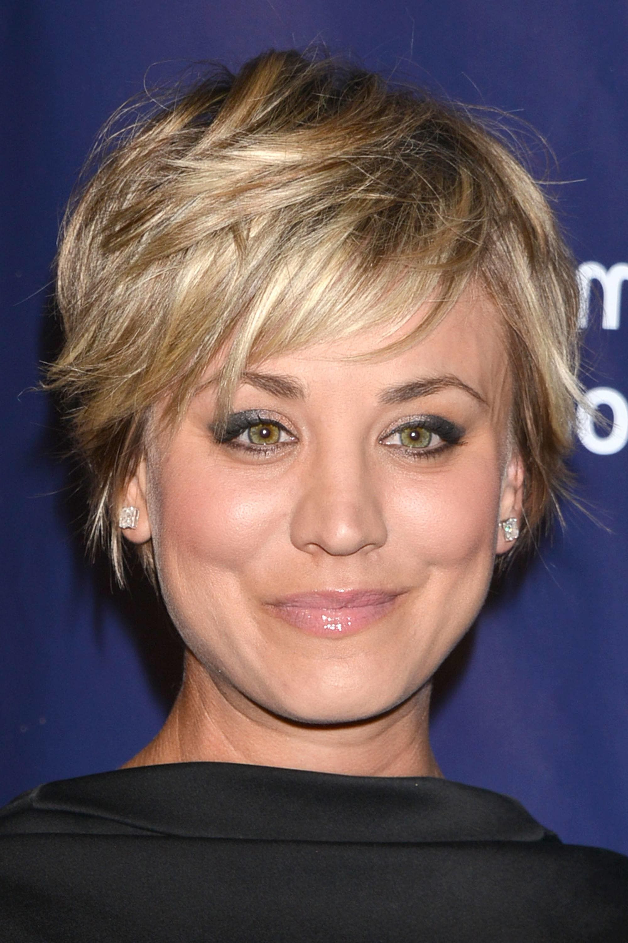 Image Result For Kaley Cuoco Short Hair Heavy Layers | Short Inside Kaley Cuoco Short Hairstyles (View 20 of 25)