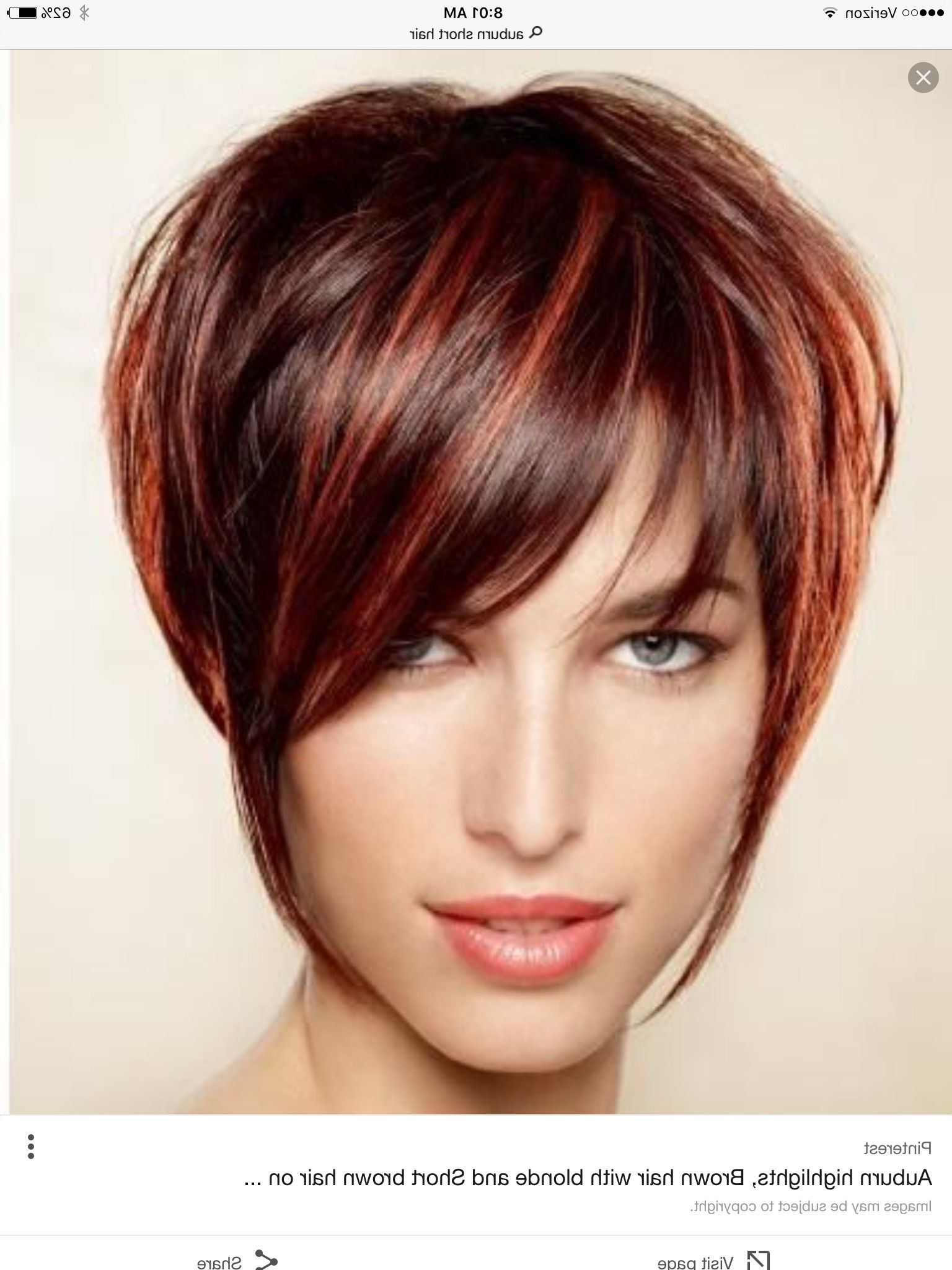 Image Result For Wild Look A Frame Short Spiked Curly Stacked For Auburn Short Haircuts (View 2 of 25)