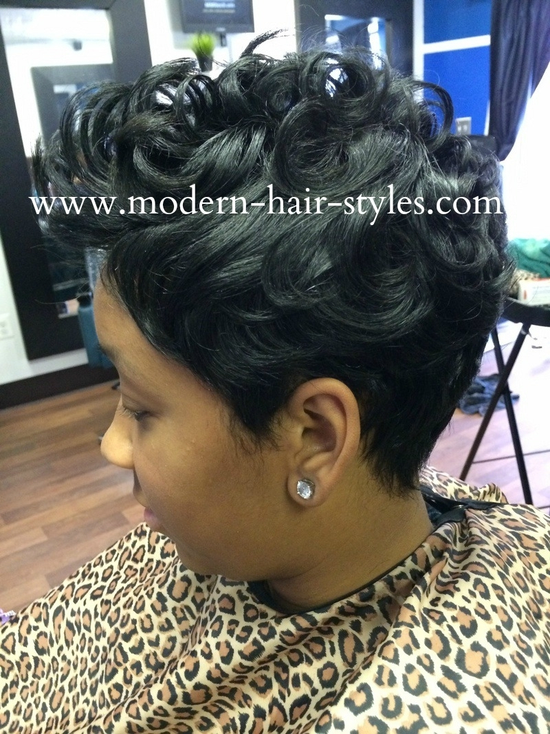 Images For Black Women With Razor Cut Hairstyle Black Women Razor Pertaining To Razor Cut Short Hairstyles (View 25 of 25)