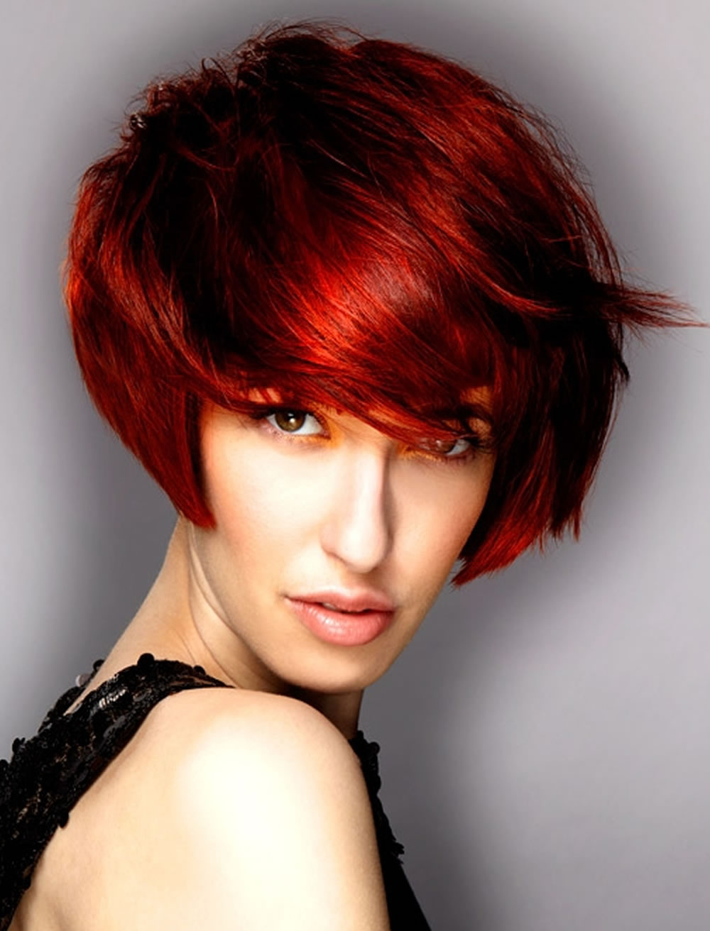 Incredible Short Bob Hairstyles Red Hair 2017 2018 – Hairstyles Regarding Short Hairstyles For Red Hair (View 5 of 25)