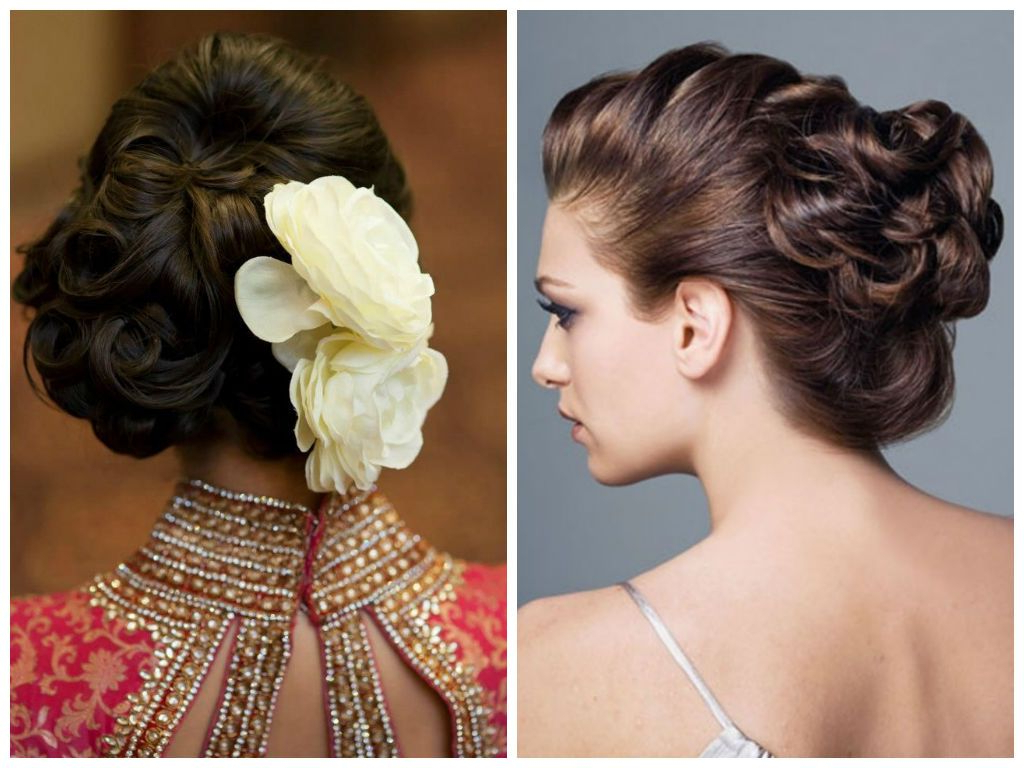 Indian Wedding Hairstyles For Short Hair – Google Search | Bridal In Short Hairstyles For Indian Wedding (View 12 of 25)