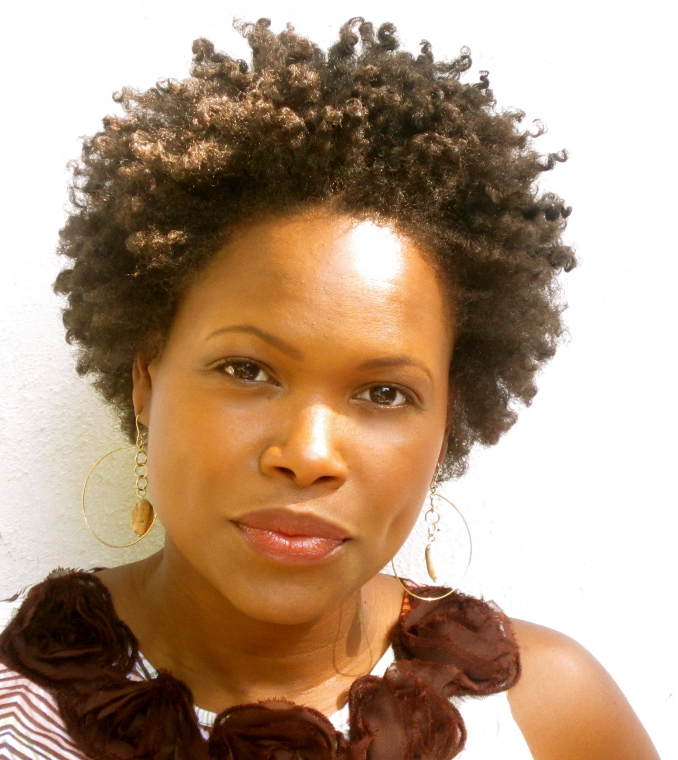 Inspirational Awesome African American Short Natural Hairstyles For Pertaining To African American Short Haircuts For Round Faces (View 20 of 25)