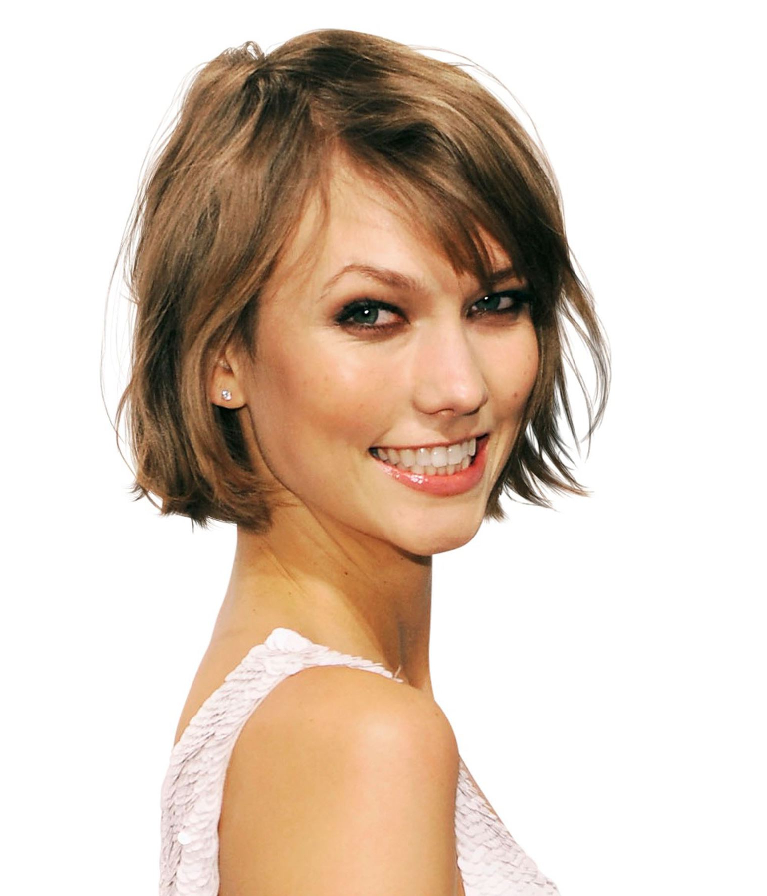 Interesting Short Bob Hairstyles For Fine Straight Hair For Your Intended For Karlie Kloss Short Haircuts (View 21 of 25)