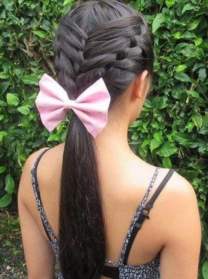Featured Photo of Intricate And Adorable French Braid Ponytail Hairstyles