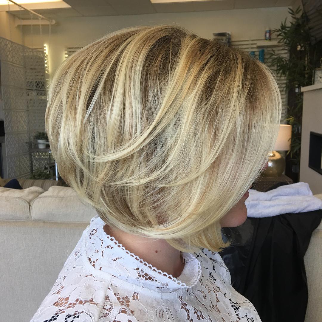 Inverted Bob Haircuts And Hairstyles 2018 | Long, Short, Medium Within Inverted Bob Short Haircuts (View 15 of 25)
