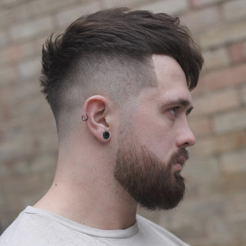 Is Hairstyles For Men With Thick Hair | The Hairstyles Ideas For Short Medium Haircuts For Thick Hair (View 17 of 25)