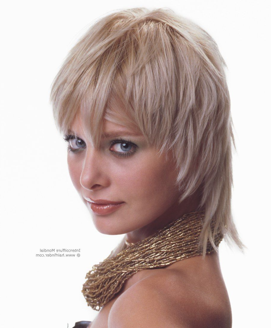 Jagged Semi-Short Hairstyle For A Young Woman   Haircuts In 2018 with regard to Semi Short Layered Haircuts