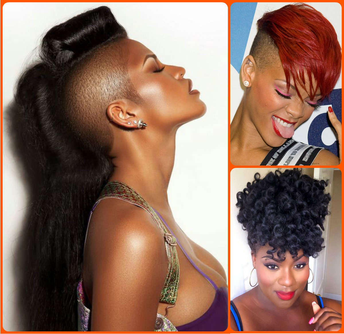 Jazzy Mohawk Hairstyles For Black Women | Hairstyles 2017, Hair Inside Mohawk Short Hairstyles For Black Women (View 4 of 25)
