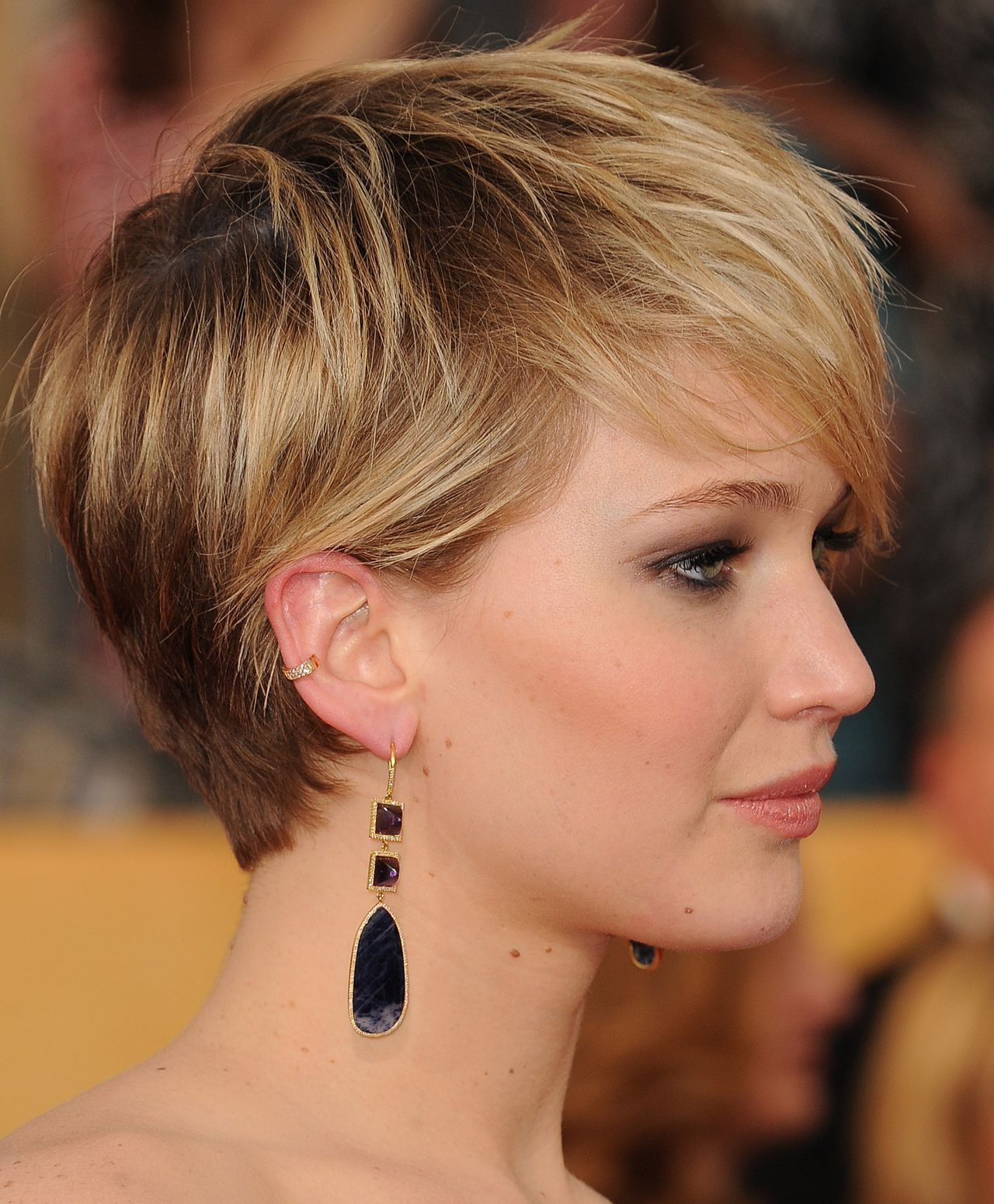 Jennifer Lawrence - 2014 Sag Awards In Los Angeles - Celebmafia intended for Jennifer Lawrence Short Hairstyles
