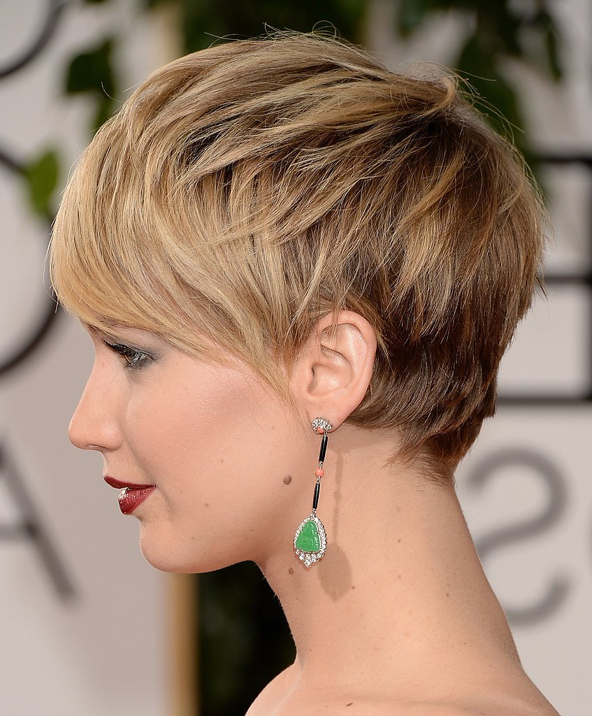 Jennifer Lawrence Short Hair Layers – Fmag In Jennifer Lawrence Short Haircuts (View 10 of 25)