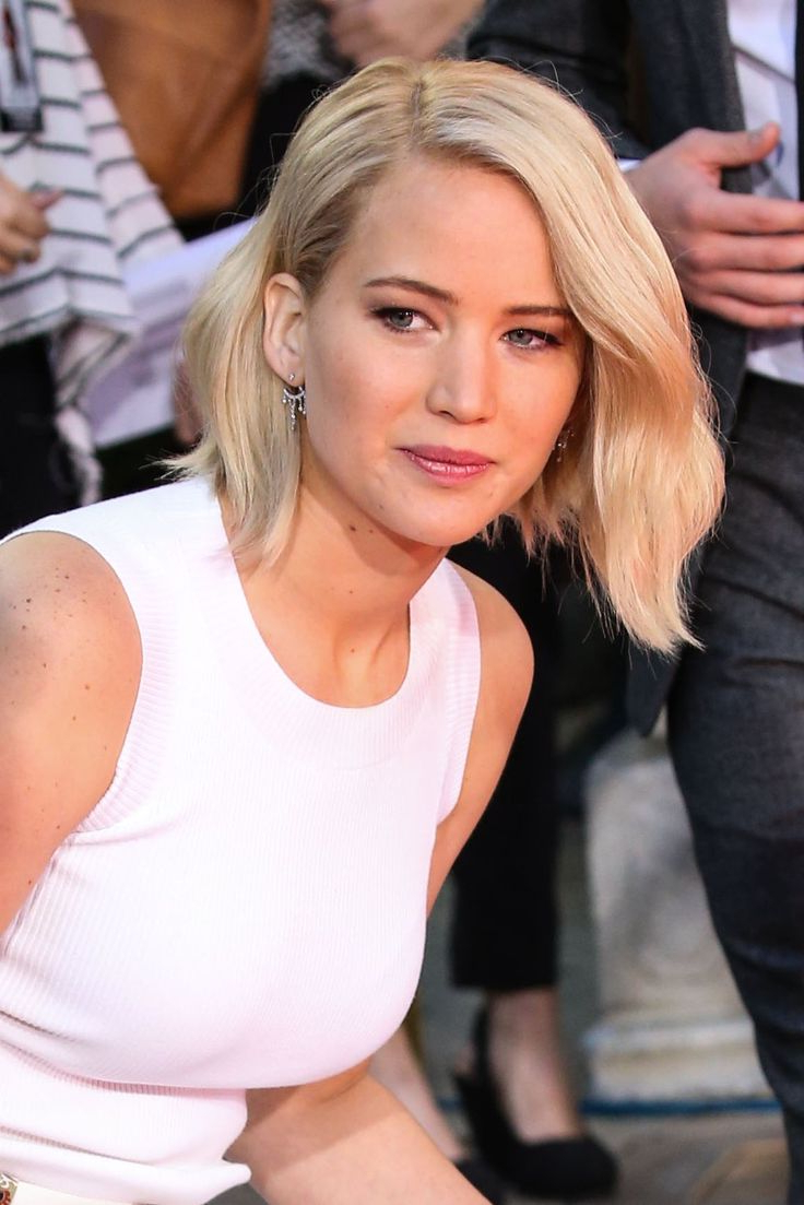 Jennifer Lawrence's Bob Hairstyles - Hair World Magazine in Jennifer Lawrence Short Hairstyles