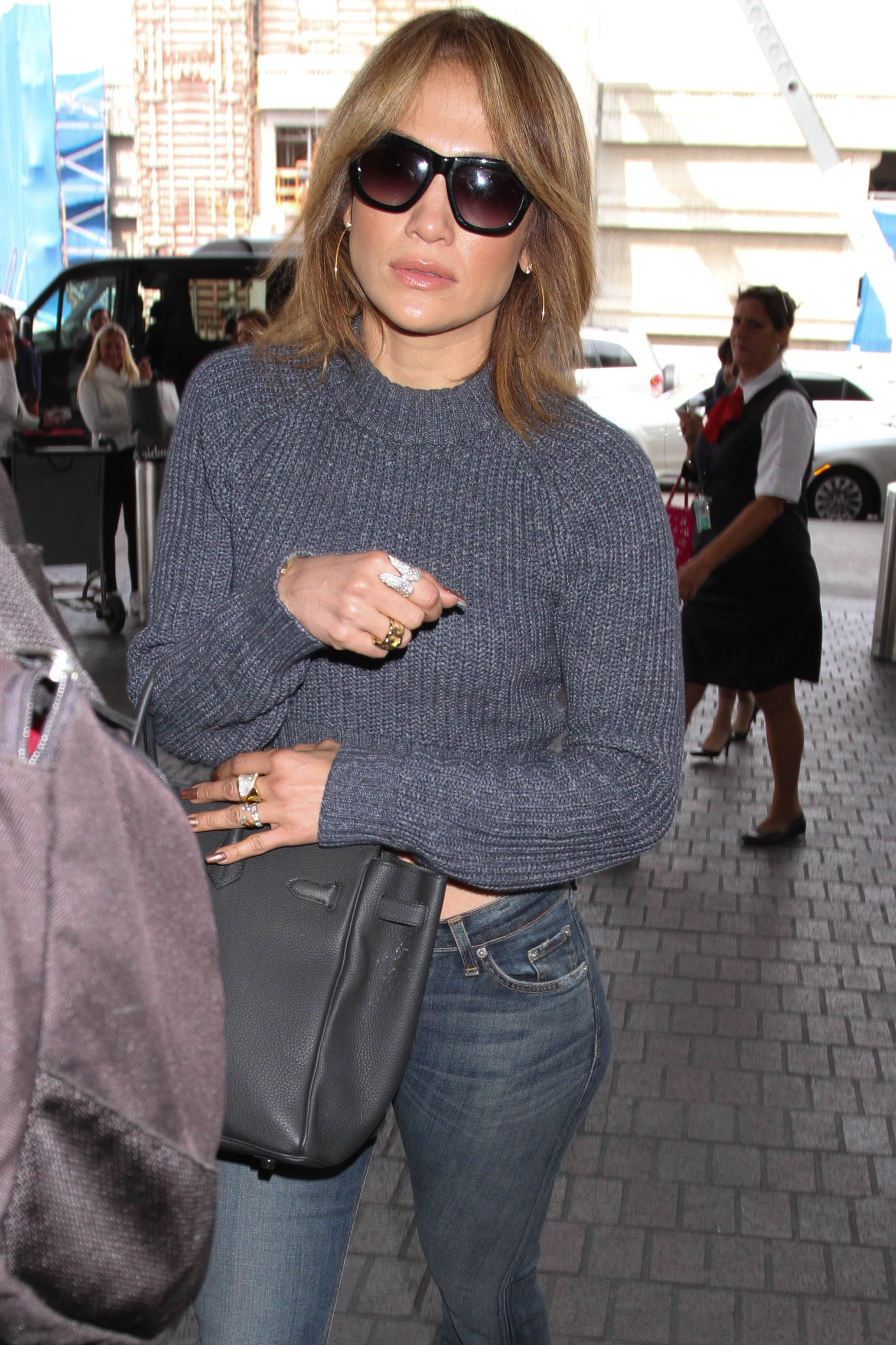 Jennifer Lopez Cuts Her Hair Short — See Her Dramatic New Look! (Photos) pertaining to Jennifer Lopez Short Haircuts