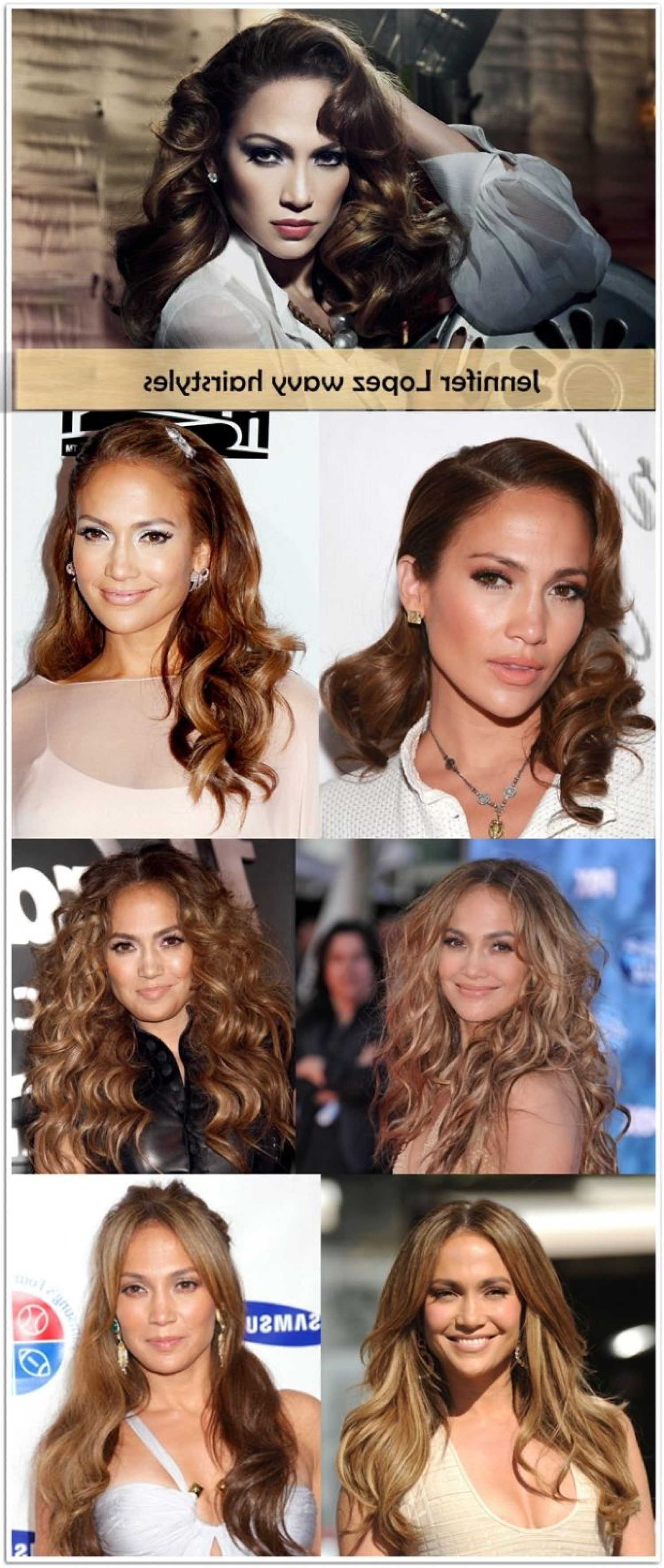 Jennifer Lopez Hairstyles - Long, Short, Wavy, Bun And Curly inside Curly Q Haircuts