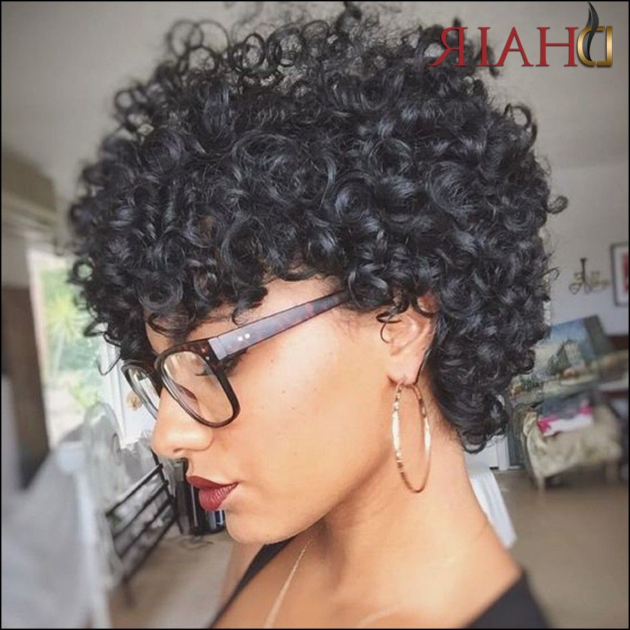 Jerry Curl Short Hairstyles | Hair Styles In 2018 | Pinterest | Hair regarding Curly Black Short Hairstyles
