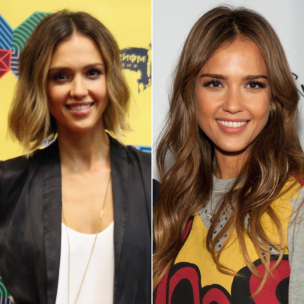 Jessica Alba | Celebrities Who Cut Their Hair Short | Hairstyle inside Jessica Alba Short Haircuts