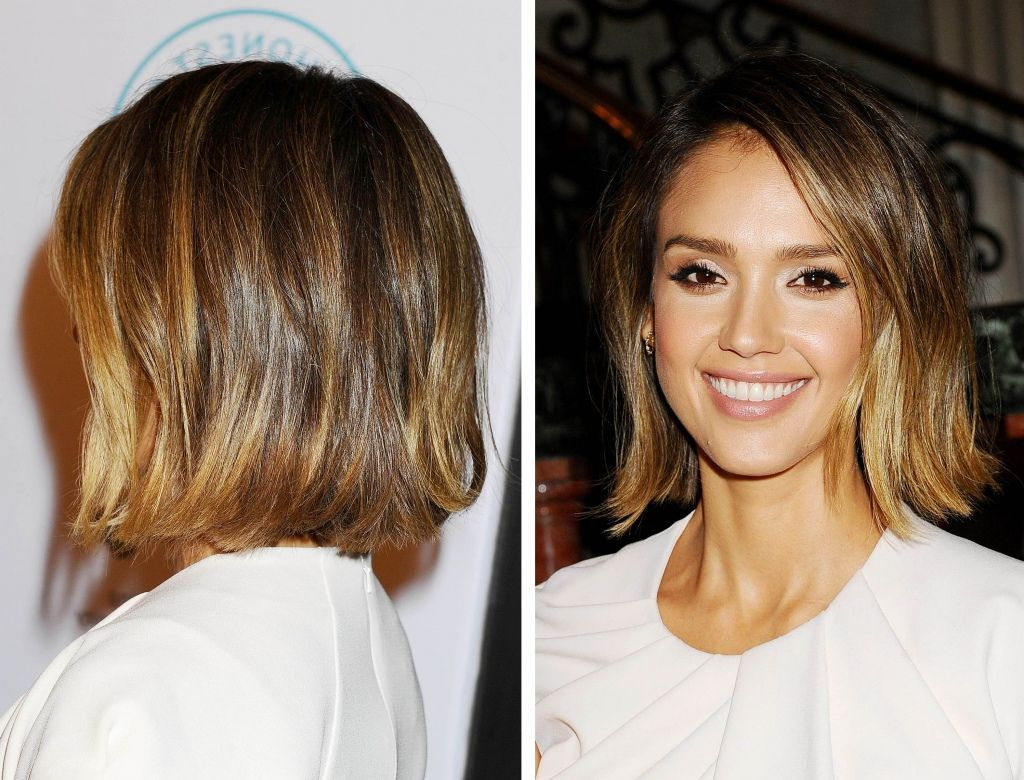 Jessica Alba Est-Elle La Perfection Incarnée ? | Hair | Pinterest intended for Jessica Alba Short Haircuts