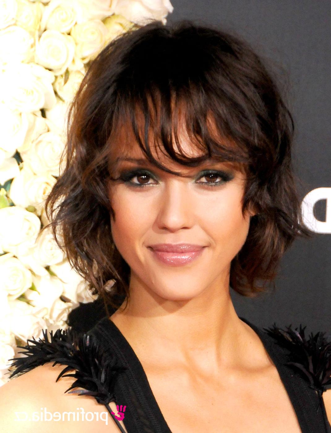 Jessica Alba Haircuts   Best Hair Style in Jessica Alba Short Haircuts