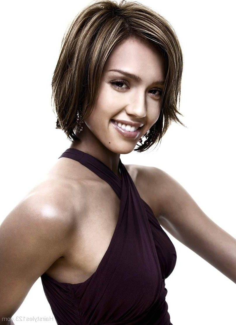 Jessica Alba Intended For Jessica Alba Short Hairstyles (View 8 of 25)