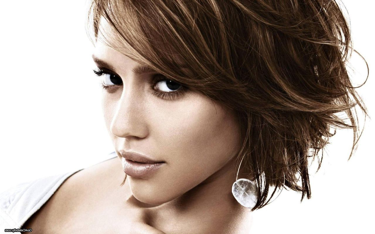 Jessica Alba | Never Lose The Mystery! Please | Pinterest In Jessica Alba Short Hairstyles (View 14 of 25)