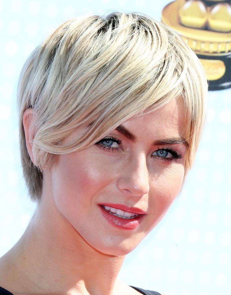 Julianne Hough Short Hairstyles - Julianne Hough Hair - Stylebistro inside Julianne Hough Short Hairstyles
