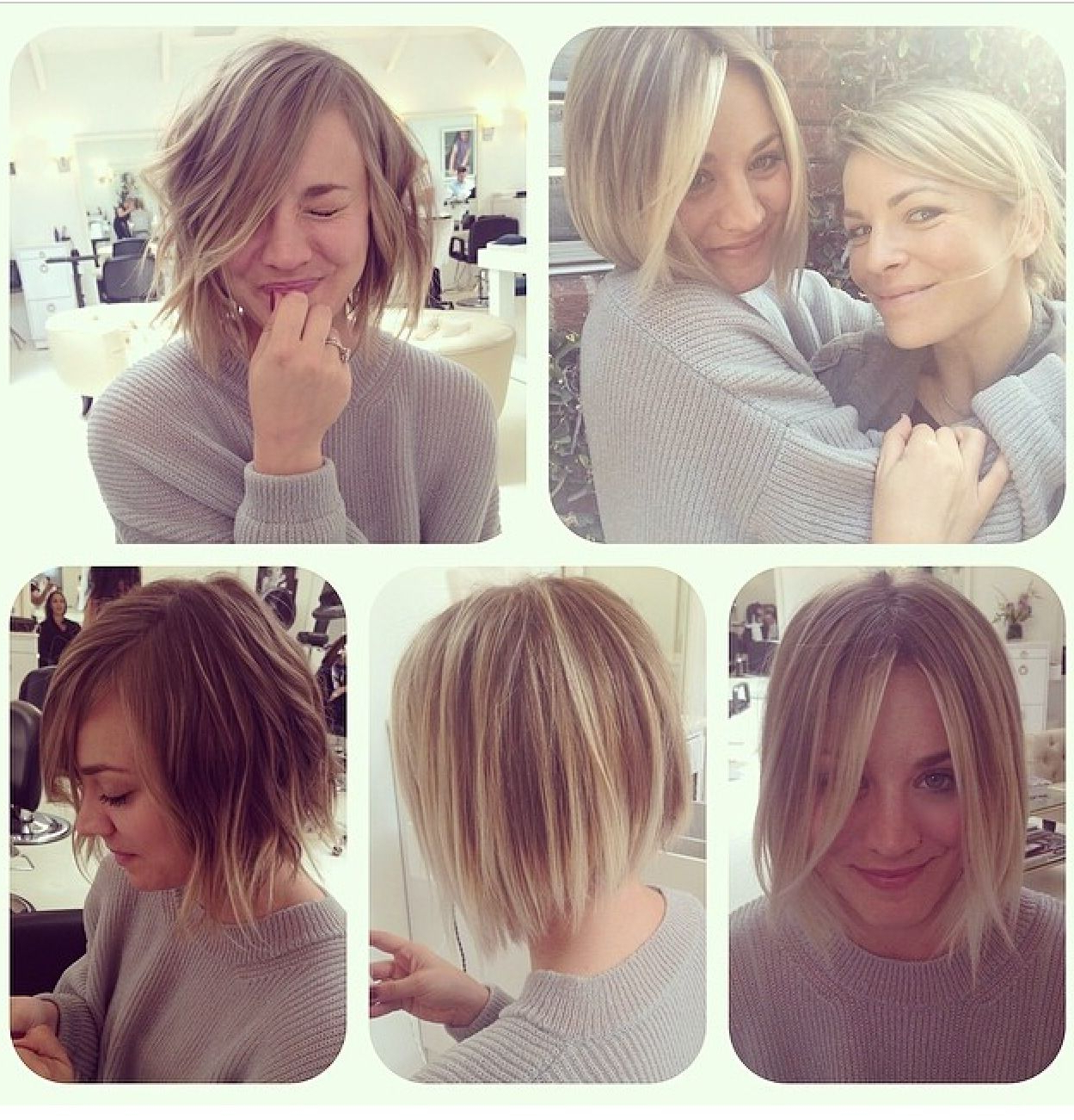 Kaley Cuoco, Bob Haircut | ¤>>Hair Obsession<<¤ In 2018 | Pinterest Intended For Kaley Cuoco New Short Haircuts (View 20 of 25)