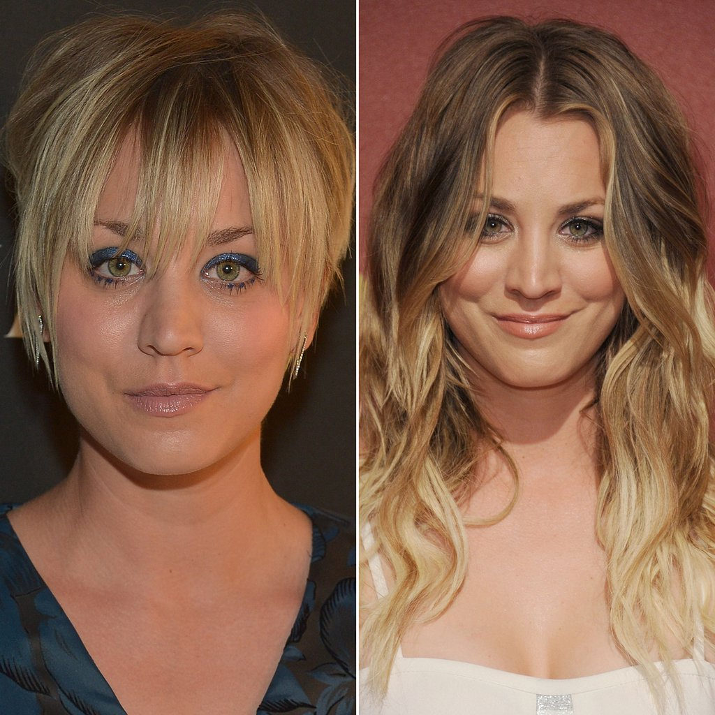 Kaley Cuoco | Celebrities Who Cut Their Hair Short | Hairstyle Throughout Kaley Cuoco Short Hairstyles (View 16 of 25)