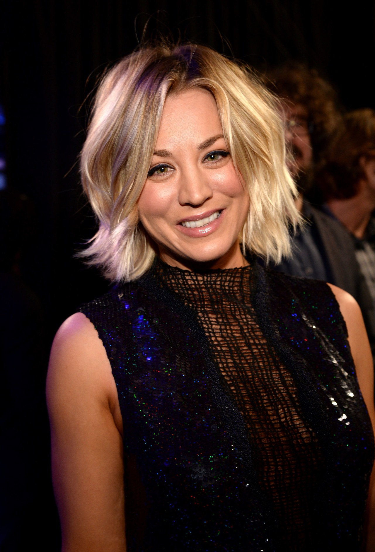 Kaley Cuoco Hair Evolution: See How She Grew Out Her Pixie | Glamour Inside Kaley Cuoco Short Hairstyles (View 7 of 25)