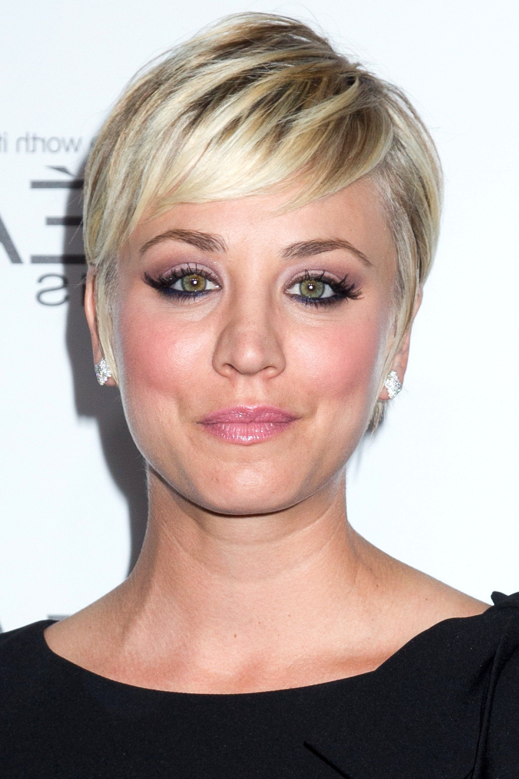 Kaley Cuoco | Short Hairstyles In 2018 | Pinterest | Kaley Cuoco Inside Kaley Cuoco Short Hairstyles (View 6 of 25)