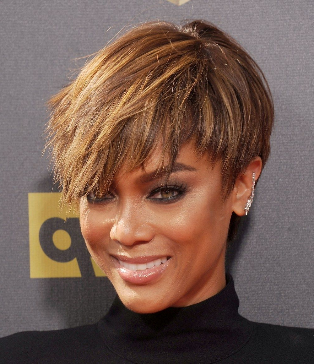 Kanye West's Evolution: How Yeezus Was Born | Hairstyle | Pinterest For Tyra Banks Short Hairstyles (View 10 of 25)