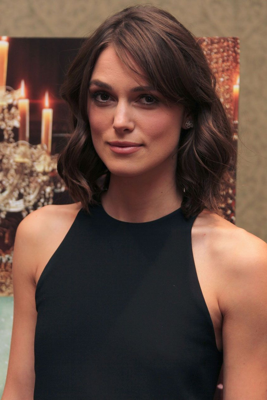 Keira Knightley: I Don't Have Anything Valuable | Hair | Pinterest Inside Keira Knightley Short Haircuts (View 14 of 25)