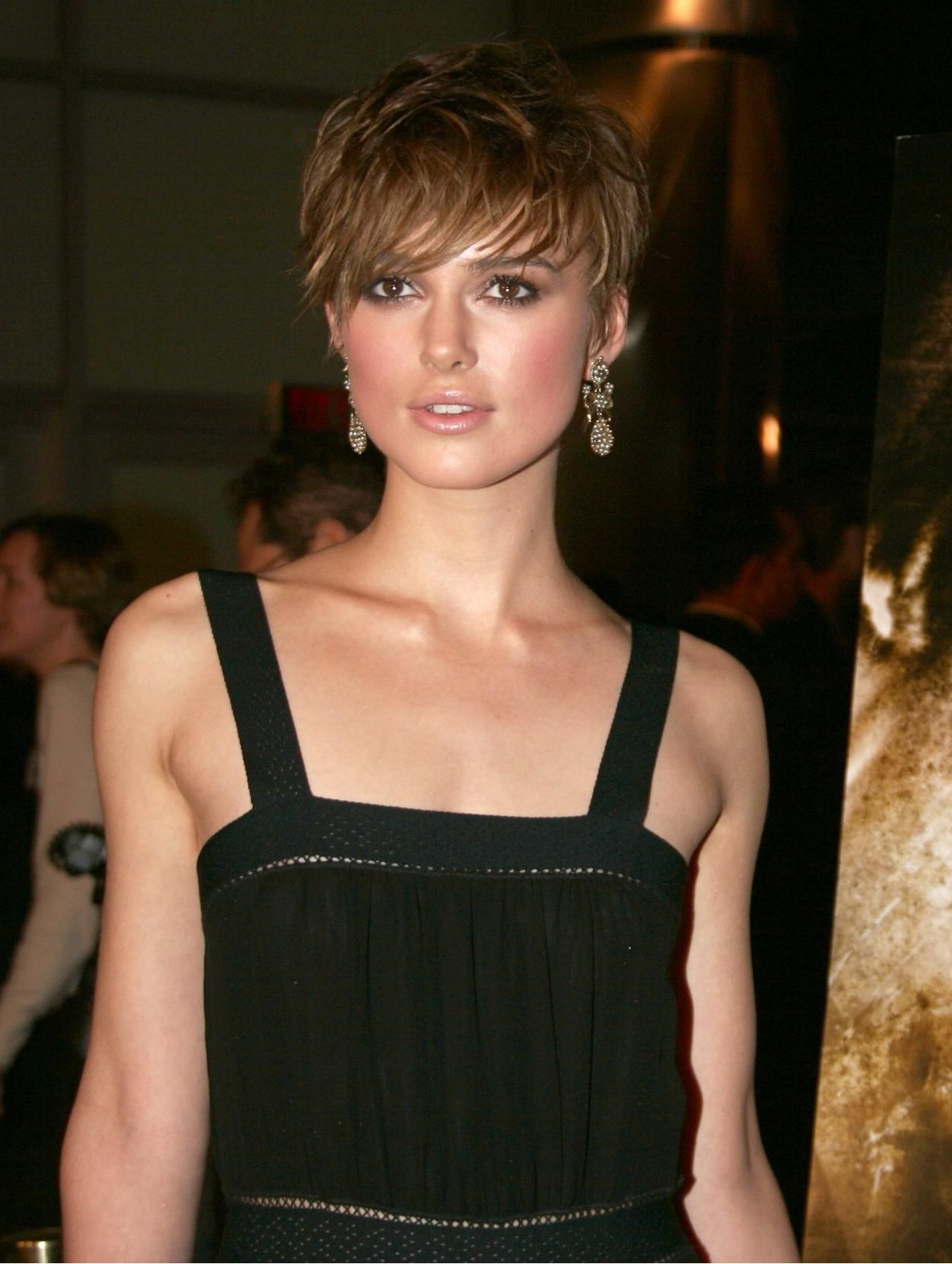 Keira Knightley | Keira Knightley | Pinterest | Hair, Short Hair Intended For Keira Knightley Short Haircuts (View 16 of 25)