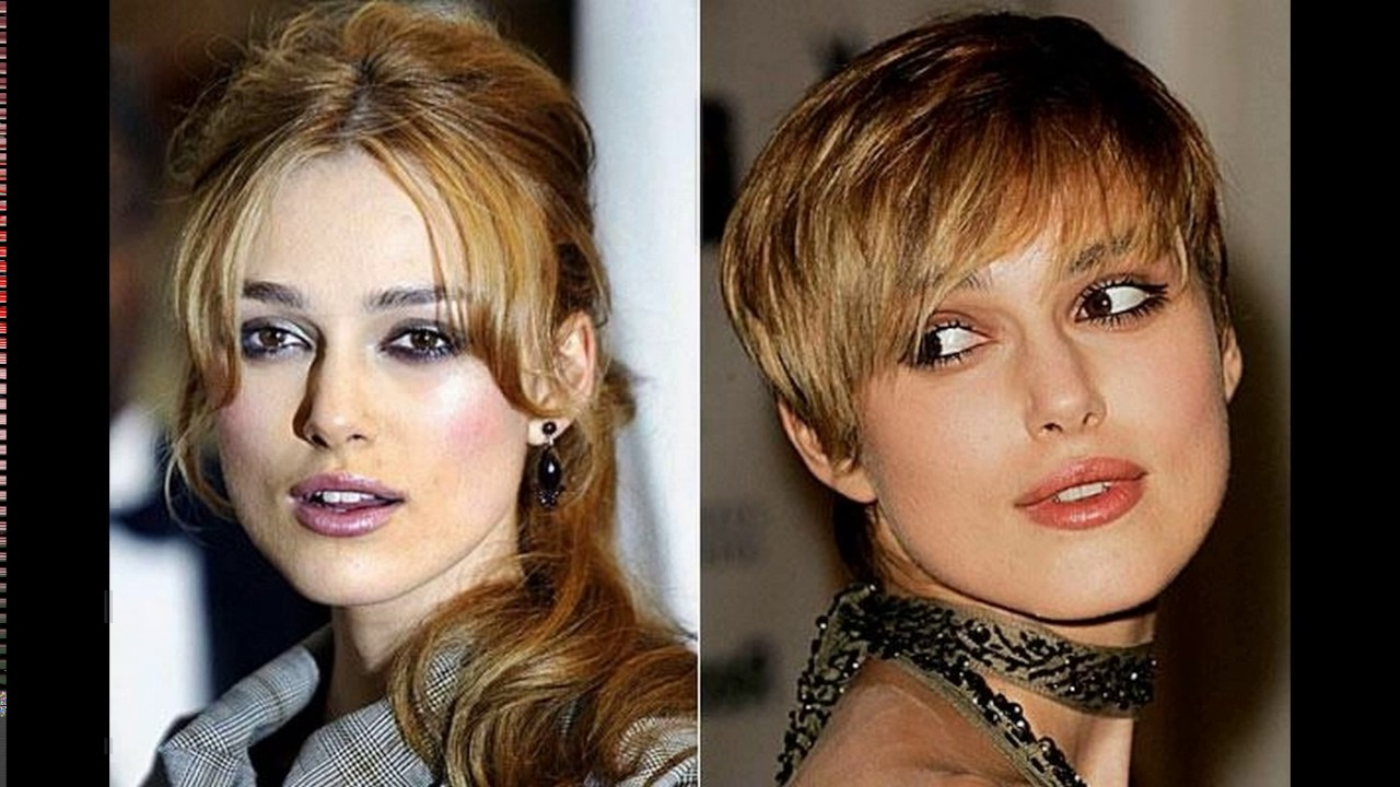 Keira Knightley Short Haircut Pictures – Youtube For Keira Knightley Short Hairstyles (View 7 of 25)