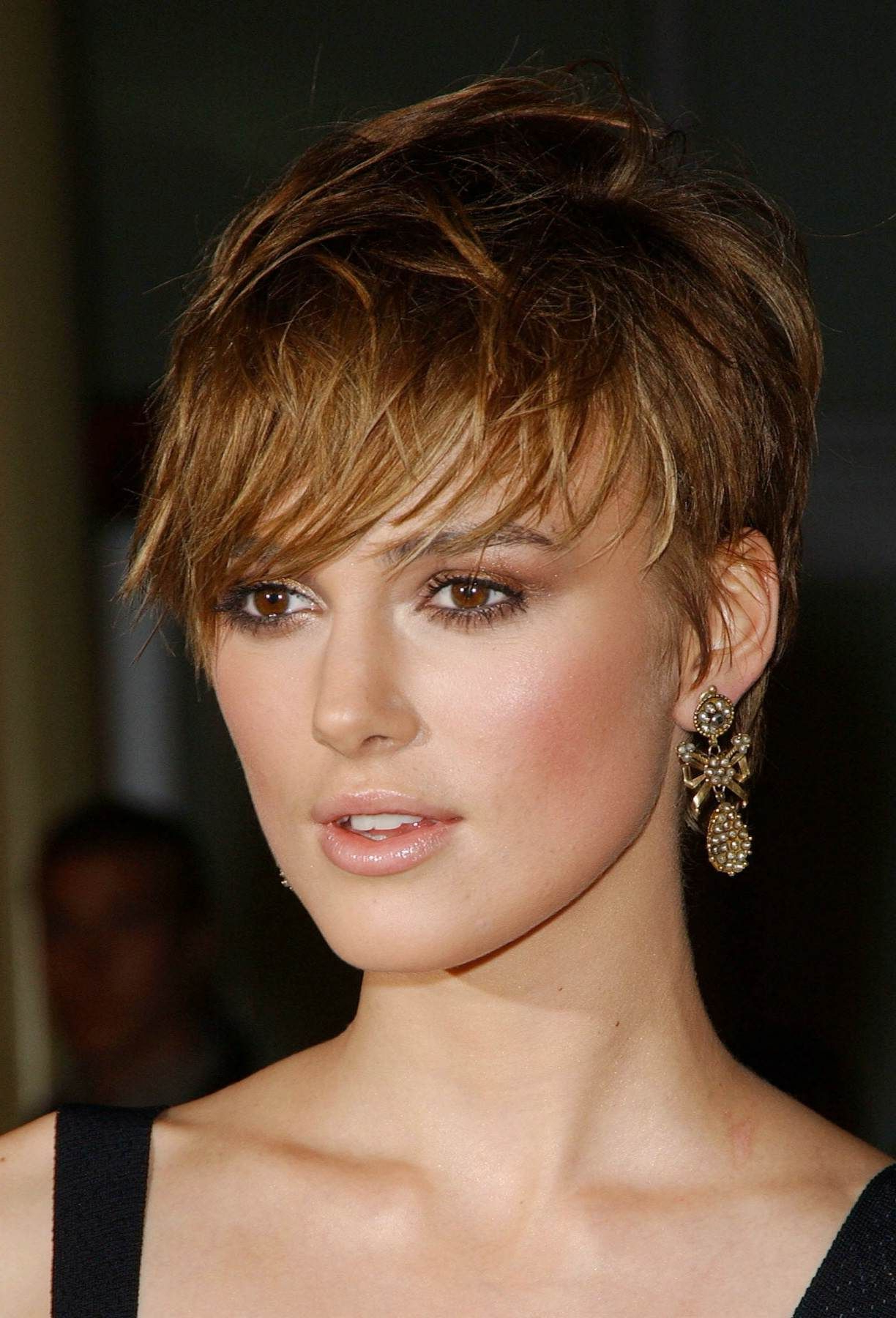 Keira Knightley – Short Pixie Cut | ~ Hairdos ~ In 2018 | Pinterest Inside Keira Knightley Short Haircuts (View 5 of 25)