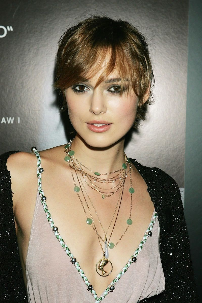 Keira Knightley's Short Hairstyles | Celeb Looks We Love Pertaining To Keira Knightley Short Hairstyles (View 6 of 25)
