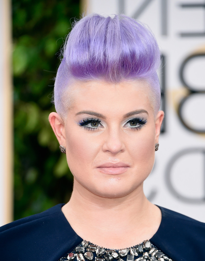 Kelly Osbourne Fauxhawk – Kelly Osbourne Short Hairstyles Lookbook Throughout Kelly Osbourne Short Haircuts (View 7 of 25)