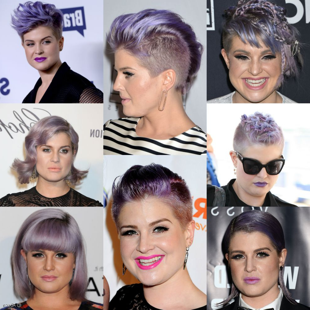 Kelly Osbourne's Crazy Hairstyles From 2014 So Far! For Kelly Osbourne Short Haircuts (View 24 of 25)