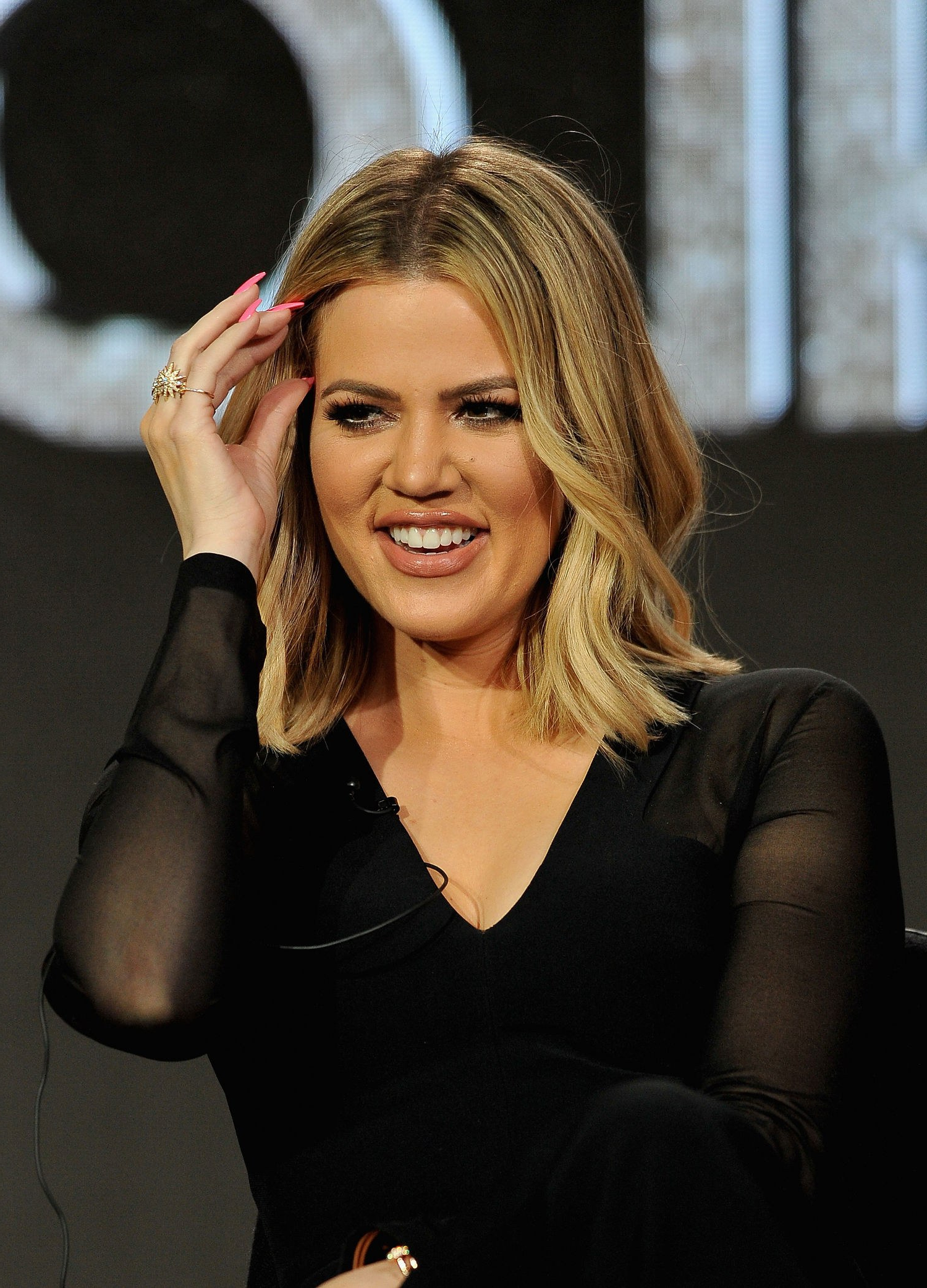 Khloe Kardashian's Short Hair Is The Most Versatile Cut Ever?here's In Center Part Short Hairstyles (View 19 of 25)