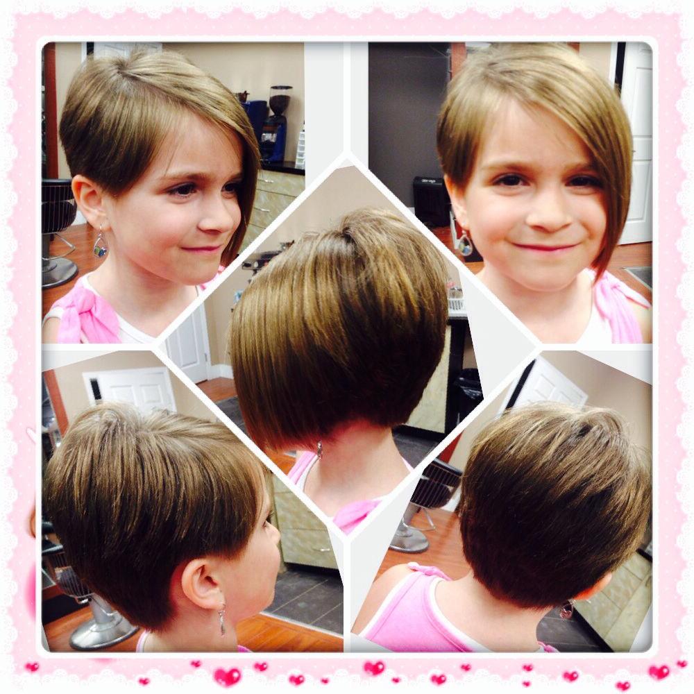 Kids Haircut #asymmetrical #edgy #bob #stylish #short | My Stuff In Within Edgy Asymmetrical Short Haircuts (View 11 of 25)